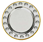 Golf Silver Plated Salver Series